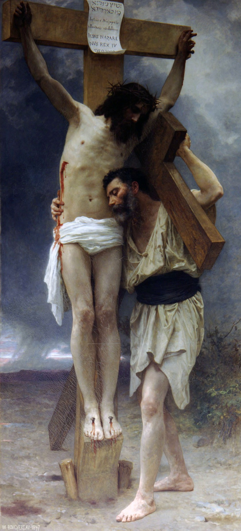 Image result for bouguereau compassion