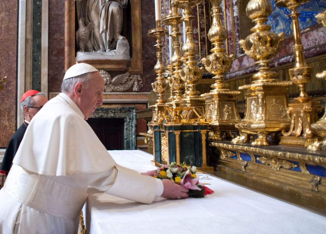 Our Holy Father's First Day