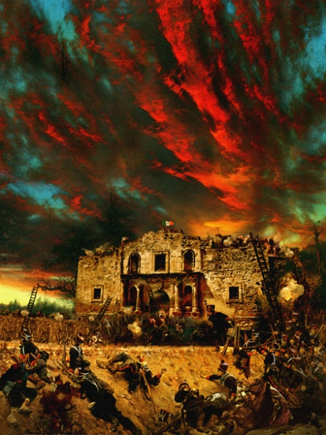 The Siege of the Alamo by Howard David Johnson