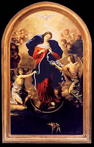 Virgin Mary Undoer of Knots by Johann Melchior Georg Schmittdner