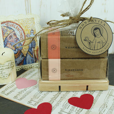 Nonnavita Soap St. Valentine's Day Gift Bag.  Click to order.