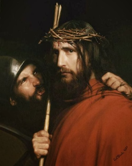 Carl Bloch, The Mocking of Christ, 1880