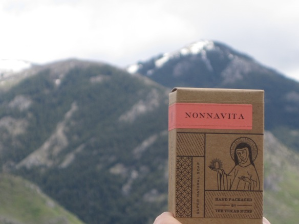 Fresh mountain air and pure organic soap