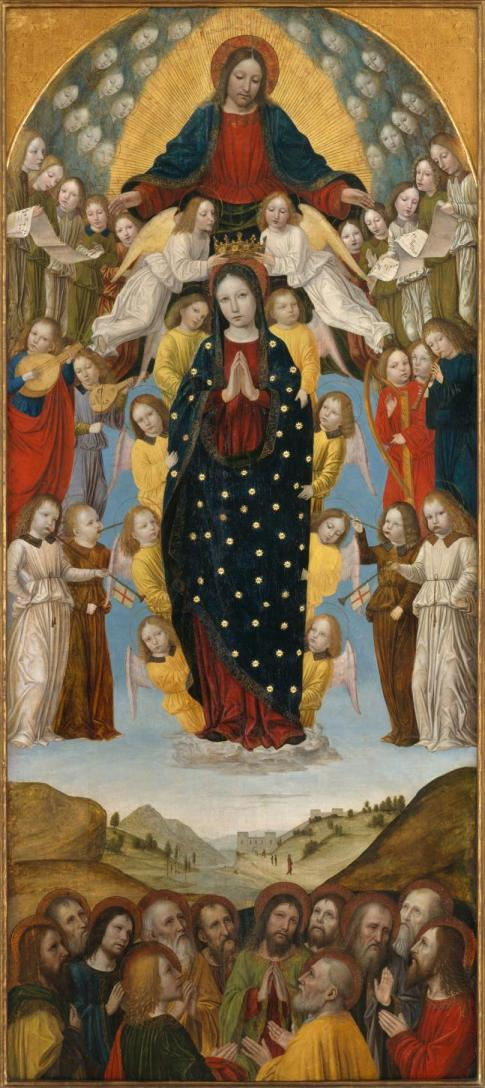 The Assumption of the Virgin Bergognone, Ambrogio di Stefano da Fossano, Italian, Milan ca. 1453–1523