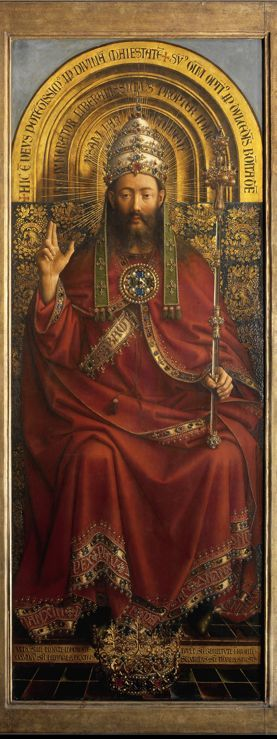 Hubert Van Eyck, part of the Ghent altarpiece