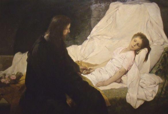 Gabriel_Max,_La_Résurrection_de_la_fille_de_Jaïre_(1878)
