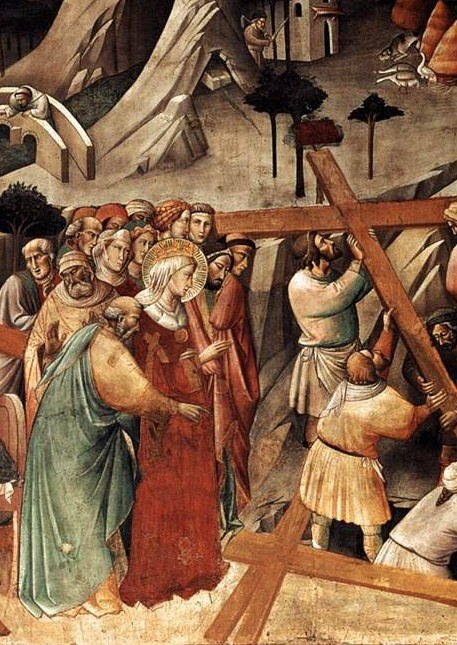 Agnolo Gaddi, True Cross detail, 1380