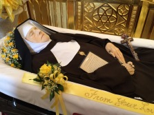 Mother looked very beautiful and peaceful, reflecting in death the beauty of her soul, so united to Jesus.
