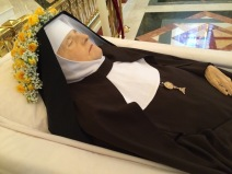 Mother looked very beautiful and peaceful, reflecting, even in death, the union of her soul with Jesus.
