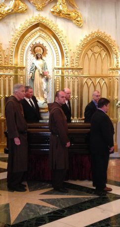 The pall bearers.
