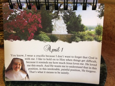 The day of her funeral.