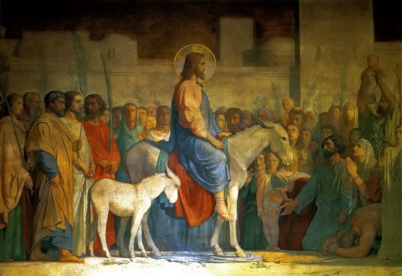 1846 Christs_Entry_into_Jerusalem_Hippolyte_Flandrin